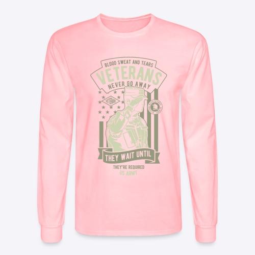 US Army Veterans - Men's Long Sleeve T-Shirt