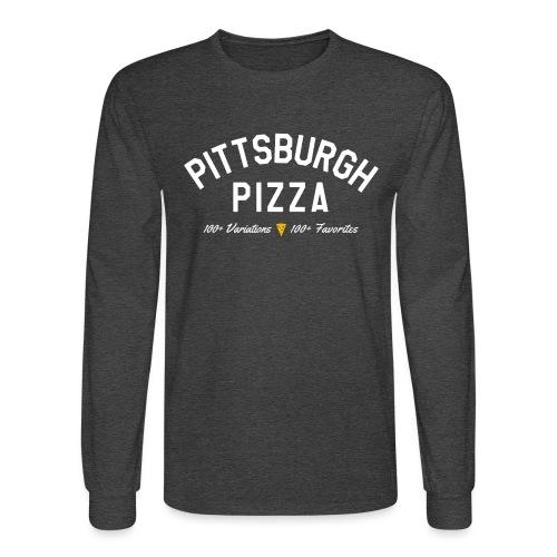 Pittsburgh Pizza - Men's Long Sleeve T-Shirt