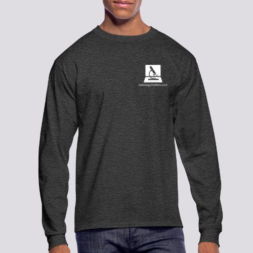 Pathology Outlines Square Logo - Men's Long Sleeve T-Shirt