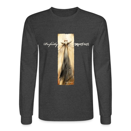 Perfectly Imperfect desig - Men's Long Sleeve T-Shirt