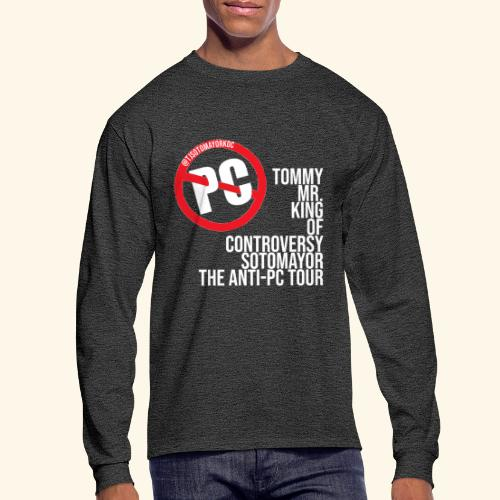 Anti PC Tour - Men's Long Sleeve T-Shirt