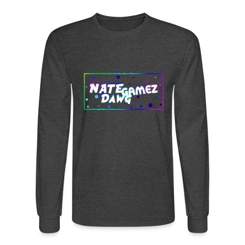NateDawg Gamez Merch - Men's Long Sleeve T-Shirt