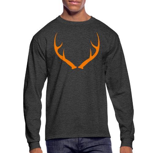 DEER ANTLERS BLAZE - Men's Long Sleeve T-Shirt