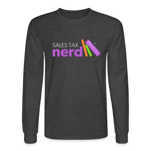 Sales Tax Nerd - Men's Long Sleeve T-Shirt