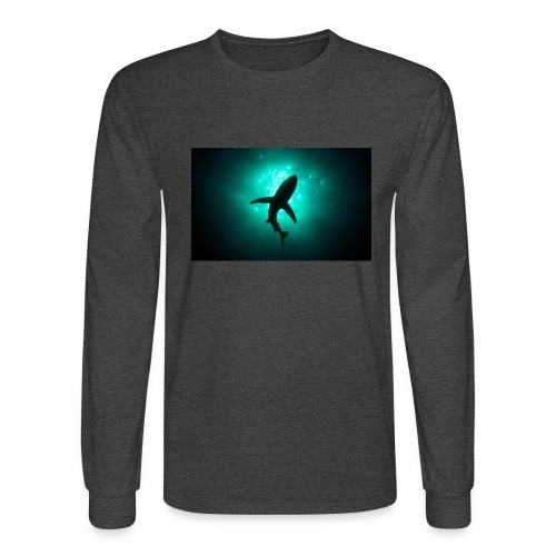 Shark in the abbis - Men's Long Sleeve T-Shirt