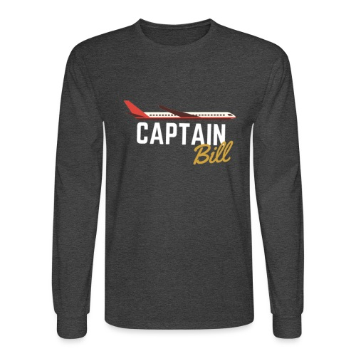 Captain Bill Avaition products - Men's Long Sleeve T-Shirt