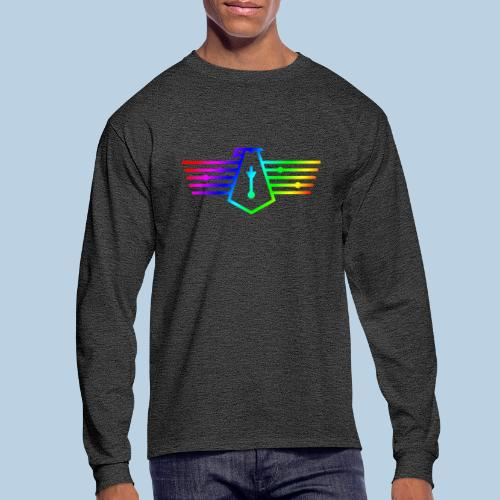 Westport Bird Rainbow on transparent - Men's Long Sleeve T-Shirt