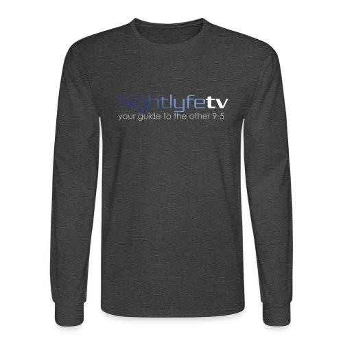 NTV Logo Full - Men's Long Sleeve T-Shirt