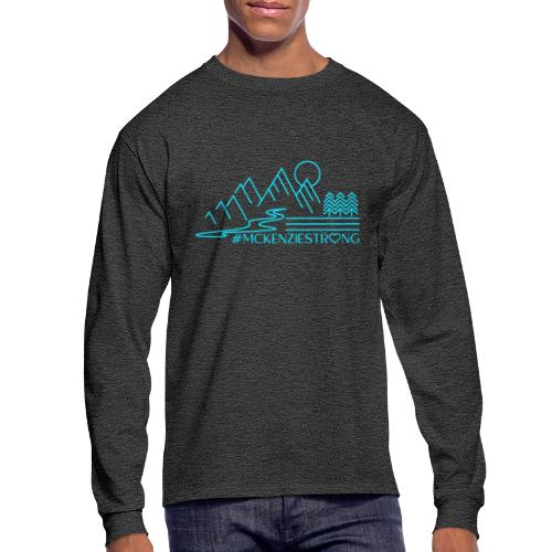 McKenzie Strong TEAL - Men's Long Sleeve T-Shirt
