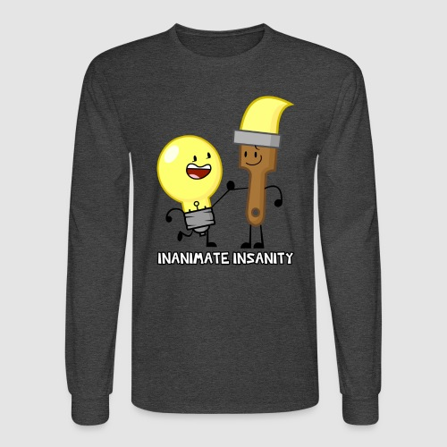 Lightbulb Paintbrush Duo - Men's Long Sleeve T-Shirt