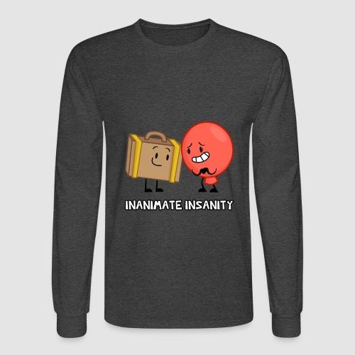Suitcase Balloon Duo - Men's Long Sleeve T-Shirt