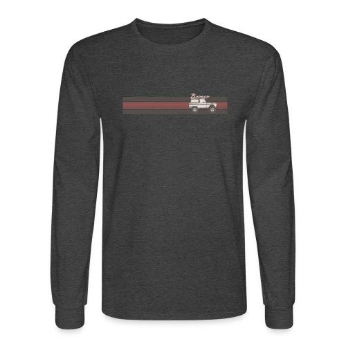 Bronco Line Art T-Shirt - Men's Long Sleeve T-Shirt