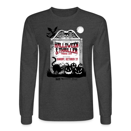 Thriller 2019 Lexington, Ky. Halloween Parade - Men's Long Sleeve T-Shirt