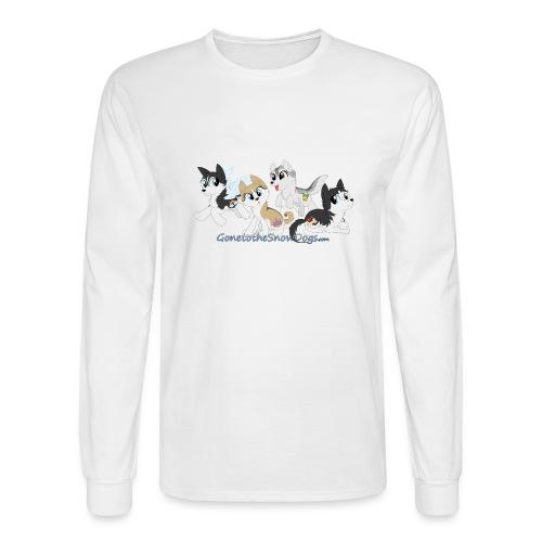 MY LITTLE HUSKYS - Men's Long Sleeve T-Shirt