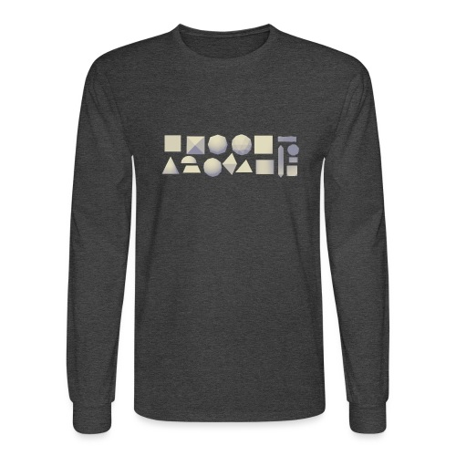 Anyland shapes - Men's Long Sleeve T-Shirt