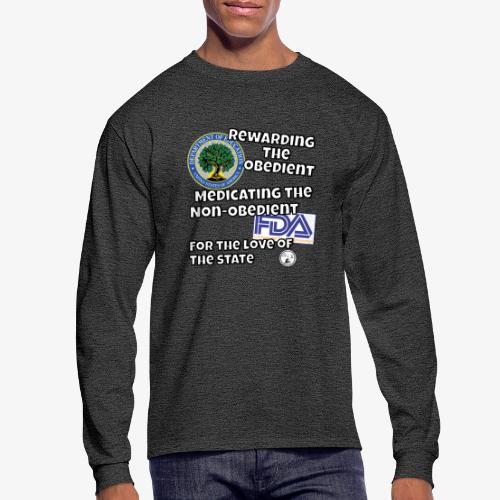 US Dept. of Education - Rewarding the Obedient... - Men's Long Sleeve T-Shirt