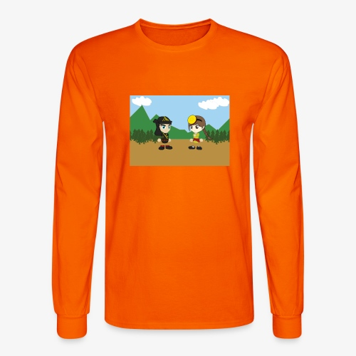 Digital Pontians - Men's Long Sleeve T-Shirt