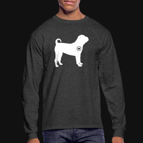 Shar Pei love - Men's Long Sleeve T-Shirt