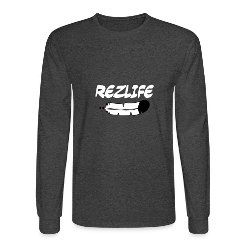 Rez Life - Men's Long Sleeve T-Shirt