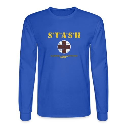 STASH-Final - Men's Long Sleeve T-Shirt