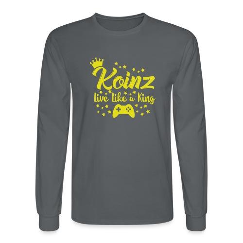 Live Like A King - Men's Long Sleeve T-Shirt