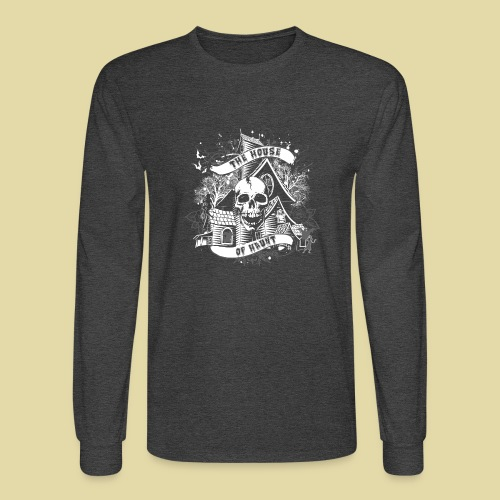 hoh_tshirt_skullhouse - Men's Long Sleeve T-Shirt