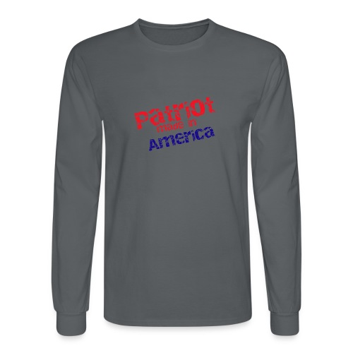 Patriot mug - Men's Long Sleeve T-Shirt