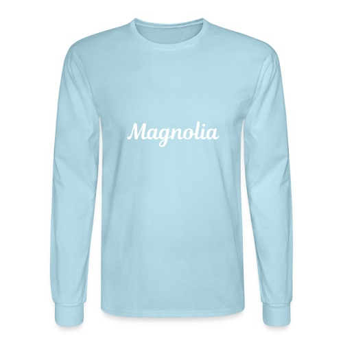 Magnolia Abstract Design. - Men's Long Sleeve T-Shirt