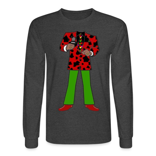 The Red Cow Suit - Men's Long Sleeve T-Shirt