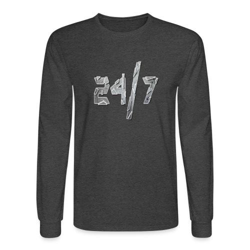 24/7 with ABG - Men's Long Sleeve T-Shirt