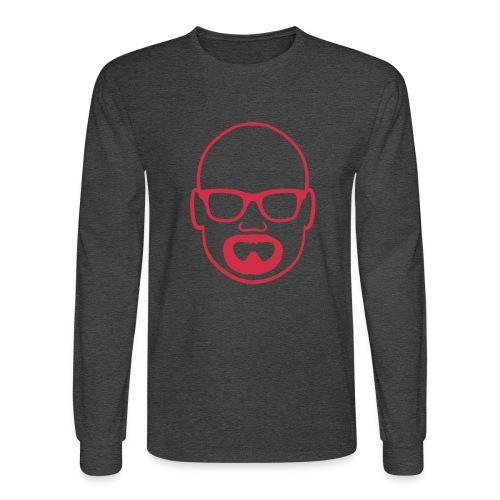 MDW Music official remix logo - Men's Long Sleeve T-Shirt