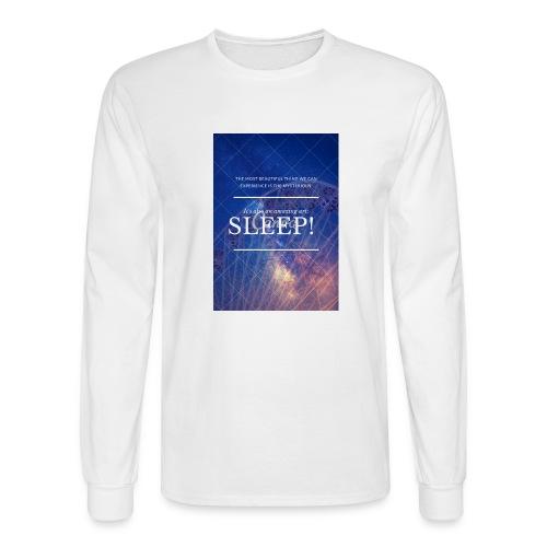 Sleep Galaxy by @lovesaccessories - Men's Long Sleeve T-Shirt