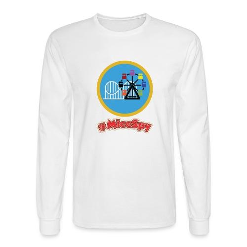 Paradise Pier Explorer Badge - Men's Long Sleeve T-Shirt