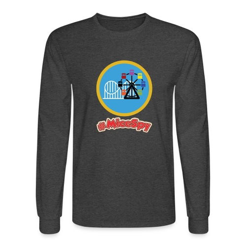 Paradise Pier Explorer Badge - Men's Long Sleeve T-Shirt