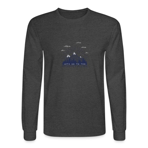 Adventure Mountains T-shirts and Products - Men's Long Sleeve T-Shirt