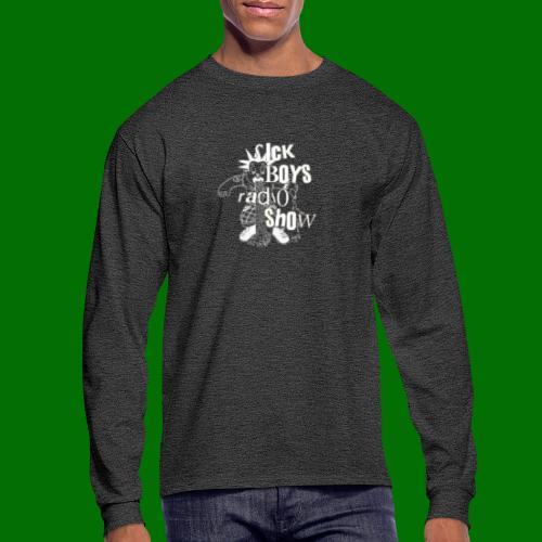 Sick Boys Puke Punk - Men's Long Sleeve T-Shirt