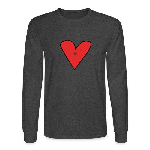 Heart - Men's Long Sleeve T-Shirt