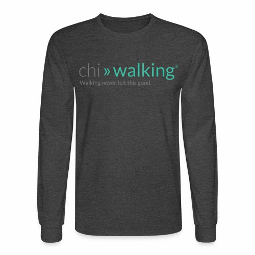 chiwalking logo tshirt gr - Men's Long Sleeve T-Shirt