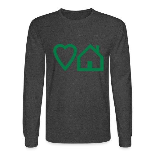 ts-3-love-house-music - Men's Long Sleeve T-Shirt