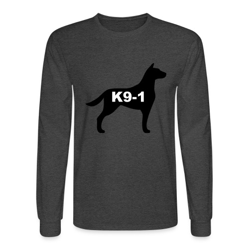 k9-1 Logo Large - Men's Long Sleeve T-Shirt