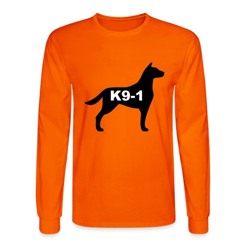 k9-1 Logo Large - Men's Long Sleeve T-Shirt