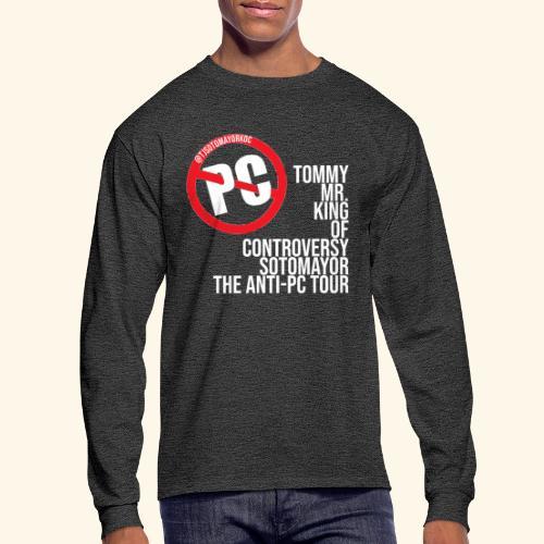 Anti PC Tour - Men's Long Sleeve T-Shirt