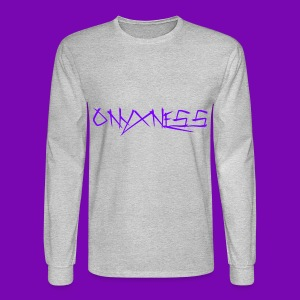 OnyxNess (Purple) - Men's Long Sleeve T-Shirt