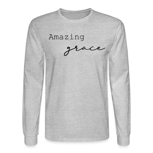 amazing grace - Men's Long Sleeve T-Shirt