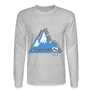 BBQ A Mile High - Men's Long Sleeve T-Shirt