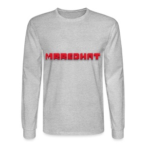MrRedHat Plain Logo - Men's Long Sleeve T-Shirt