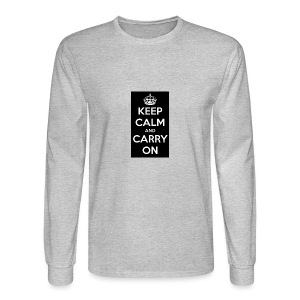 KEEP CALM AND SUB TO DIAMOND - Men's Long Sleeve T-Shirt