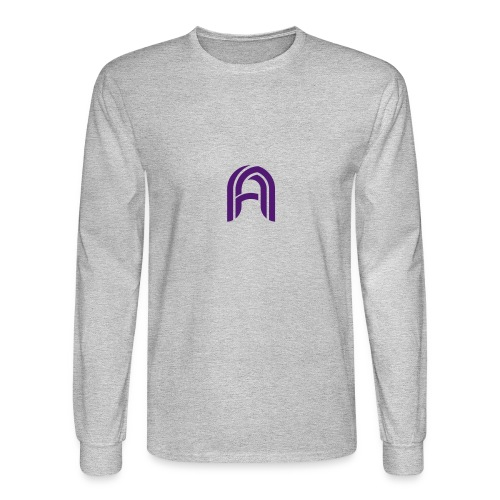 The Argon Logo - Men's Long Sleeve T-Shirt