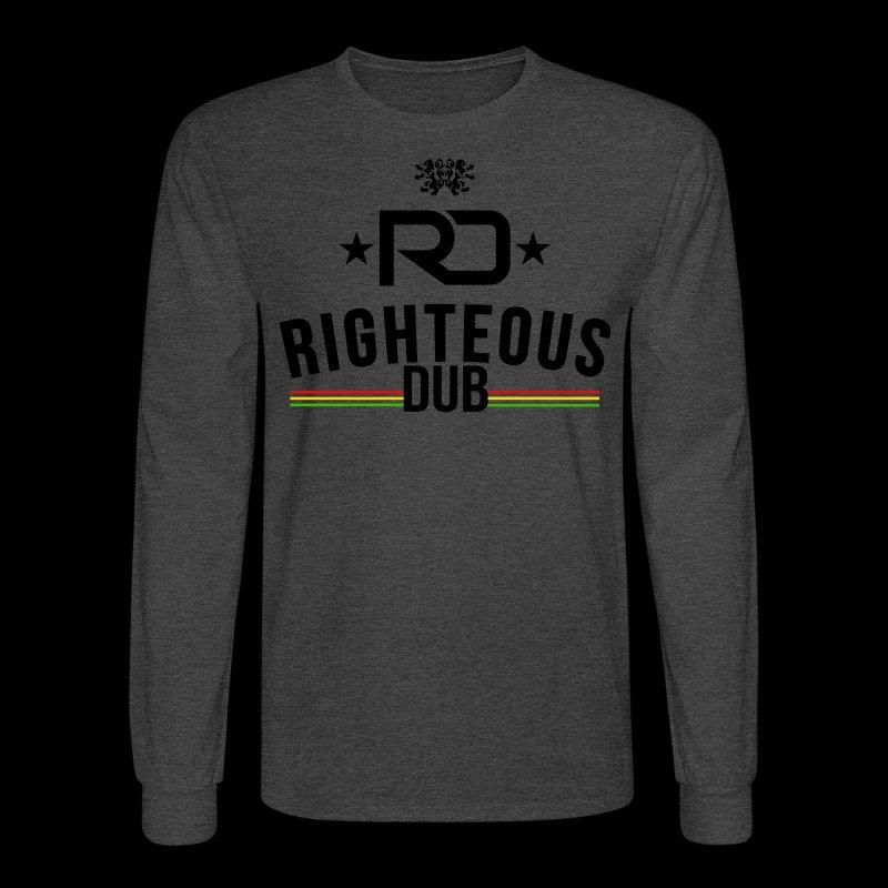 Righteous Dub Logo - Men's Long Sleeve T-Shirt