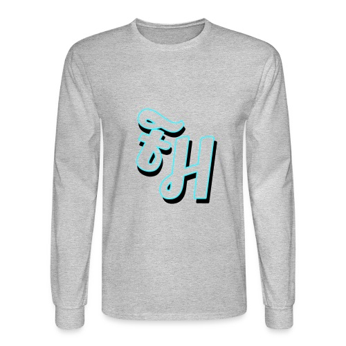 long sleeve grey shirt with limited edition logo - Men's Long Sleeve T-Shirt